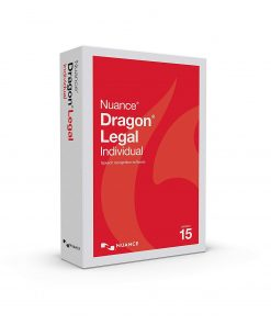Dragon NaturallySpeaking Legal Individual 15.0